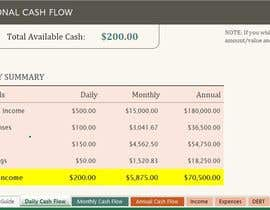 #8 for excel Financial Model: projecting Financial net worth at different scenarios af Rodylyn