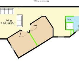 Nro 14 kilpailuun Re-design an apartment käyttäjältä Banze94