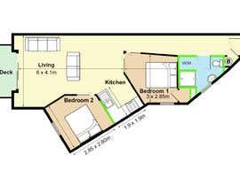 Nro 26 kilpailuun Re-design an apartment käyttäjältä emelgohary5