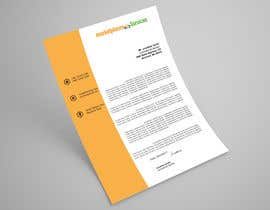 #39 for Create a US corporate letterhead Word Template by abdulmonayem85
