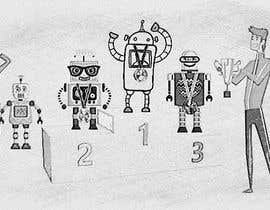 #7 for Robots on the podium winning Gold/Silver/Bronze Medals by emastojanovska