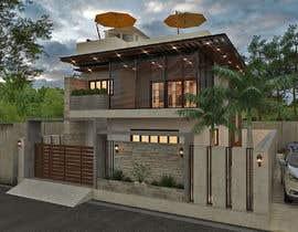 #21 for House facade design af info7SCS