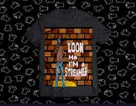 ashikurrahman32 tarafından T shirt Design for Game Streaming or live streaming in general için no 38
