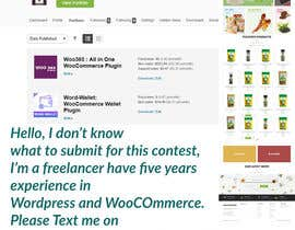 #6 для wordpress and woocomerce set up. Design already made, only product and functionality set up needed от ibiktha