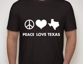 Nro 241 kilpailuun Texas t-shirt design contest käyttäjältä KaimShaw