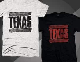Nro 288 kilpailuun Texas t-shirt design contest käyttäjältä Rezaulkarimh