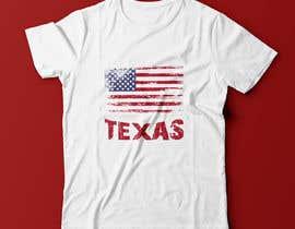 #73 , Texas t-shirt design contest 来自 jannatun394