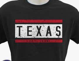 #111 para Texas t-shirt design contest de hasembd