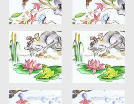 nº 4 pour Re-illustration of a design repeat par abobal7