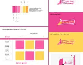 #46 for Logo with single page brand style guide (usage, color palette and typography) by drevchuk94