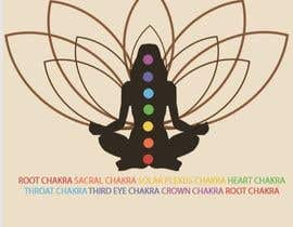#8 for Graphic design for Chakra centers in the human body for a product. by lizageo
