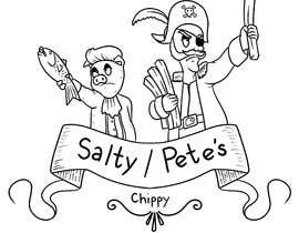 #69 for Salty/Pete's Chippy by jasongcorre