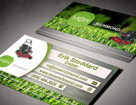 #11 cho Design some Business Cards for Lawn Care Business bởi AlexTV