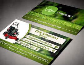 #14 cho Design some Business Cards for Lawn Care Business bởi AlexTV