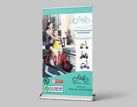 #54 for vertical banner for scooter by apnchem