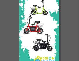 #63 for vertical banner for scooter by Tamim08