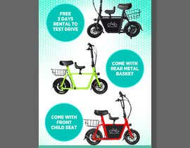 #45 for vertical banner for scooter by mtjobi