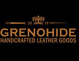 #76 for Vintage style logo for Leather craft hobby by cyberlenstudio