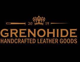 #76 untuk Vintage style logo for Leather craft hobby oleh cyberlenstudio