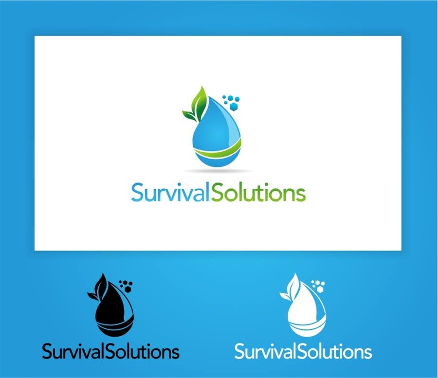 Contest Entry #                                        3                                      for                                         survival products logo
