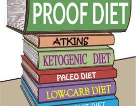 #70 for The Fad Proof Diet Book Covers by saikatmian