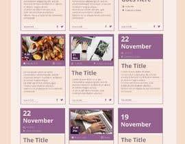 #9 untuk Design a Social Feed oleh Darya5669