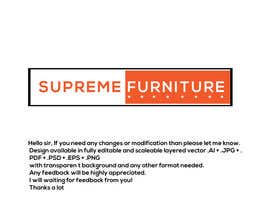 #165 for Create Logo - Supreme Furniture by Arfanmahedi