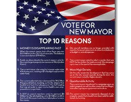 #14 for Top 10 Reasons for a new Mayor ad by irfananis07
