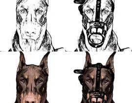 danielovando tarafından Draw a Dobermann Pinscher with a Muzzle için no 18