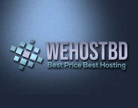 #2 for WebHosting Company Logo With Icon Make by kinza3318