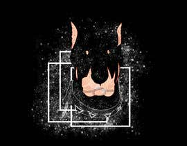 nº 29 pour I need a colorful clean graphic of a dog face similar to the attached for T-shirt. Underneath graphic should read BigDawgTalk par viroot