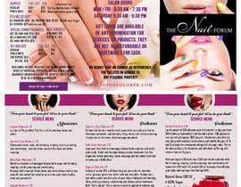 nº 9 pour Need a TriFold Brochure design for Nail Salon par Win112370