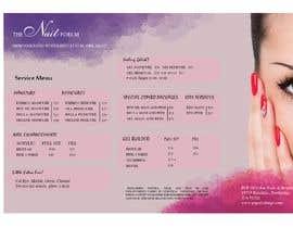 nº 10 pour Need a TriFold Brochure design for Nail Salon par MohNaasan