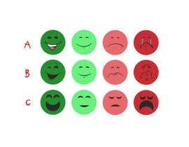 #44 for 4 custom smileys af marcokap
