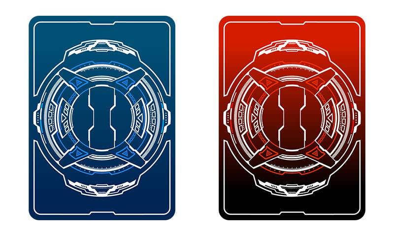 Конкурсная заявка №14 для Card front template