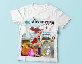 Nro 87 kilpailuun High quality Eye catching travel tshirt käyttäjältä RibonEliass