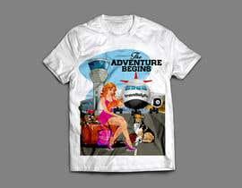 Nro 102 kilpailuun High quality Eye catching travel tshirt käyttäjältä RibonEliass
