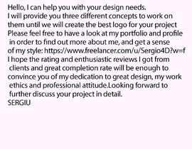 #10 untuk Design Project oleh Sergio4D