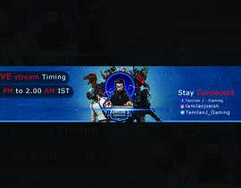 #42 for YOUTUBE GAMING CHANNEL ART by Raisulfahad