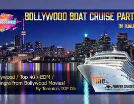 #25 for Designing Creatives for Bollywood Boat Cruise Party by AkS0409