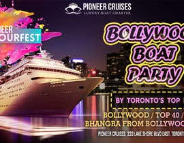 #39 for Designing Creatives for Bollywood Boat Cruise Party by gumelarkrisna1