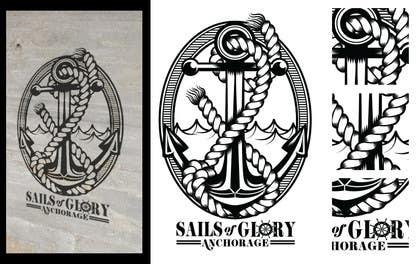 #23 para Sails of Glory Anchorage logo de crayonscrayola