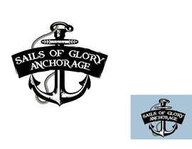 #4 for Sails of Glory Anchorage logo af marijoing