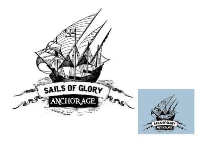 #12 para Sails of Glory Anchorage logo de marijoing