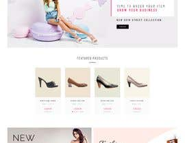 #26 for Build me a shoes e-commerce website af rakibullusa