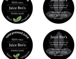 #19 для Design 2 labels for a juice glass bottle от gabibaba2000