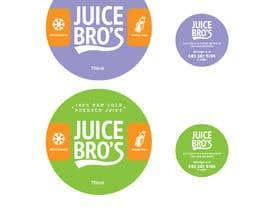 #23 для Design 2 labels for a juice glass bottle от eling88