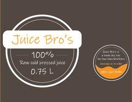 #4 для Design 2 labels for a juice glass bottle от fatihyildiz1864