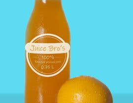 #5 для Design 2 labels for a juice glass bottle от fatihyildiz1864