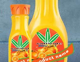 #9 для Design 2 labels for a juice glass bottle от arifdesigner14